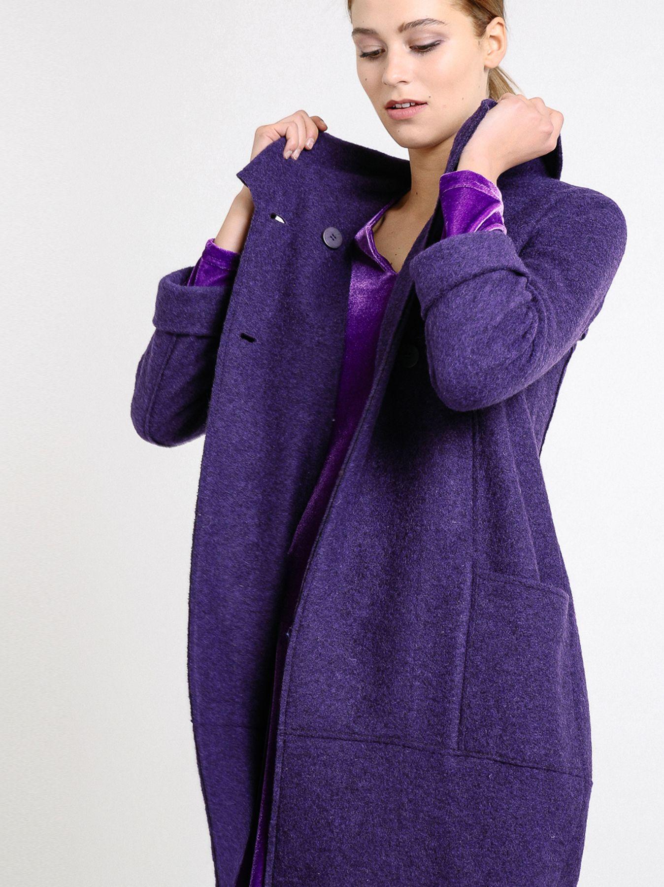 Cappottino in lana cotta