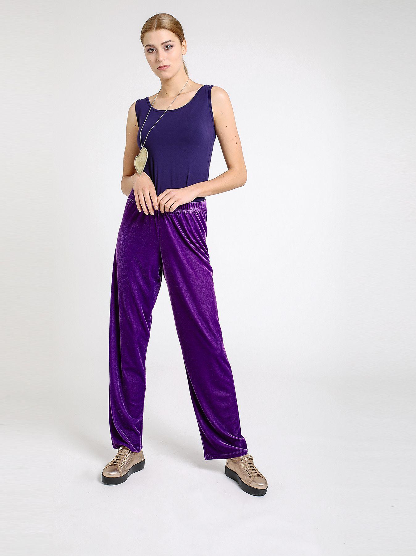 Pantalone in velluto