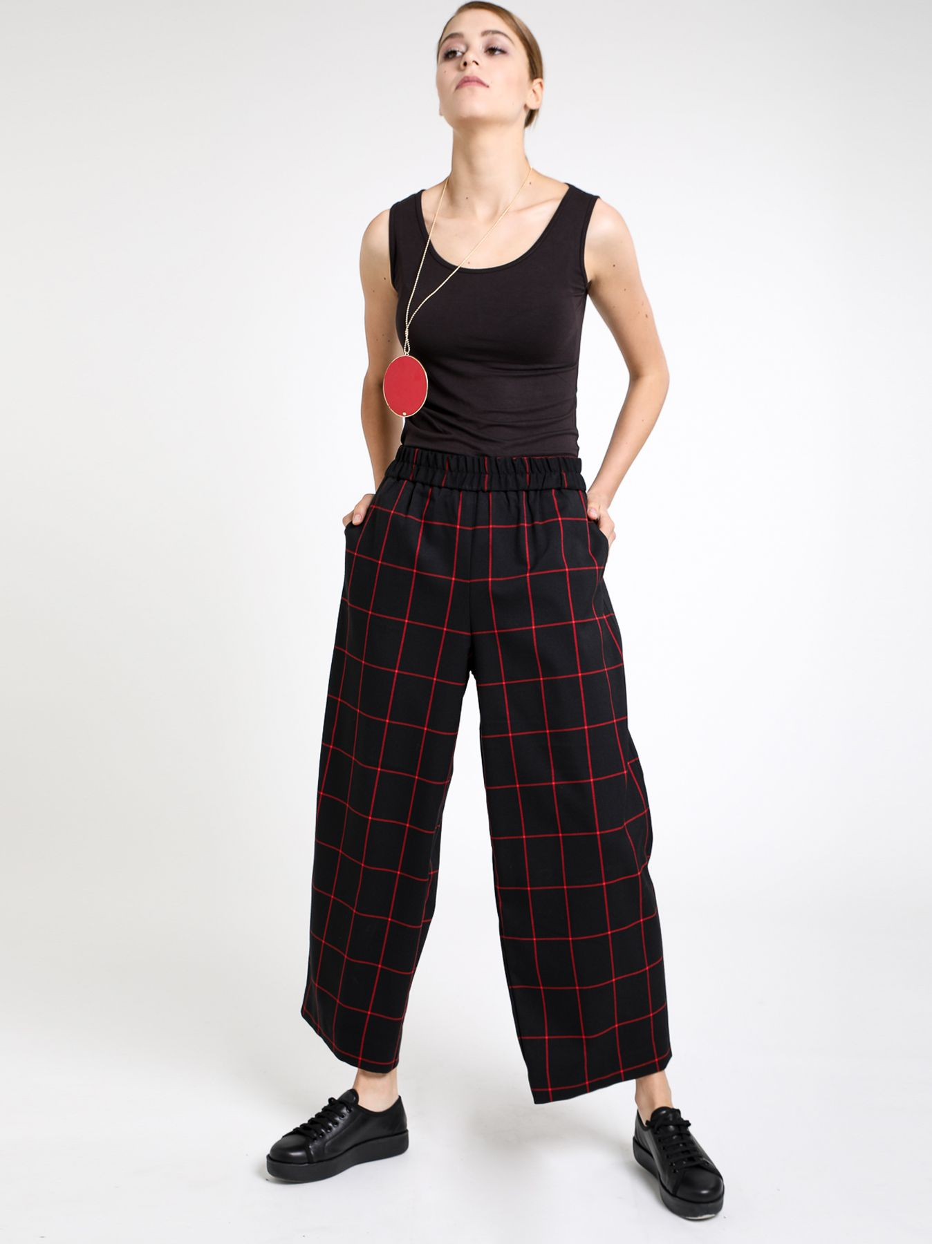 Pantalone cargo check