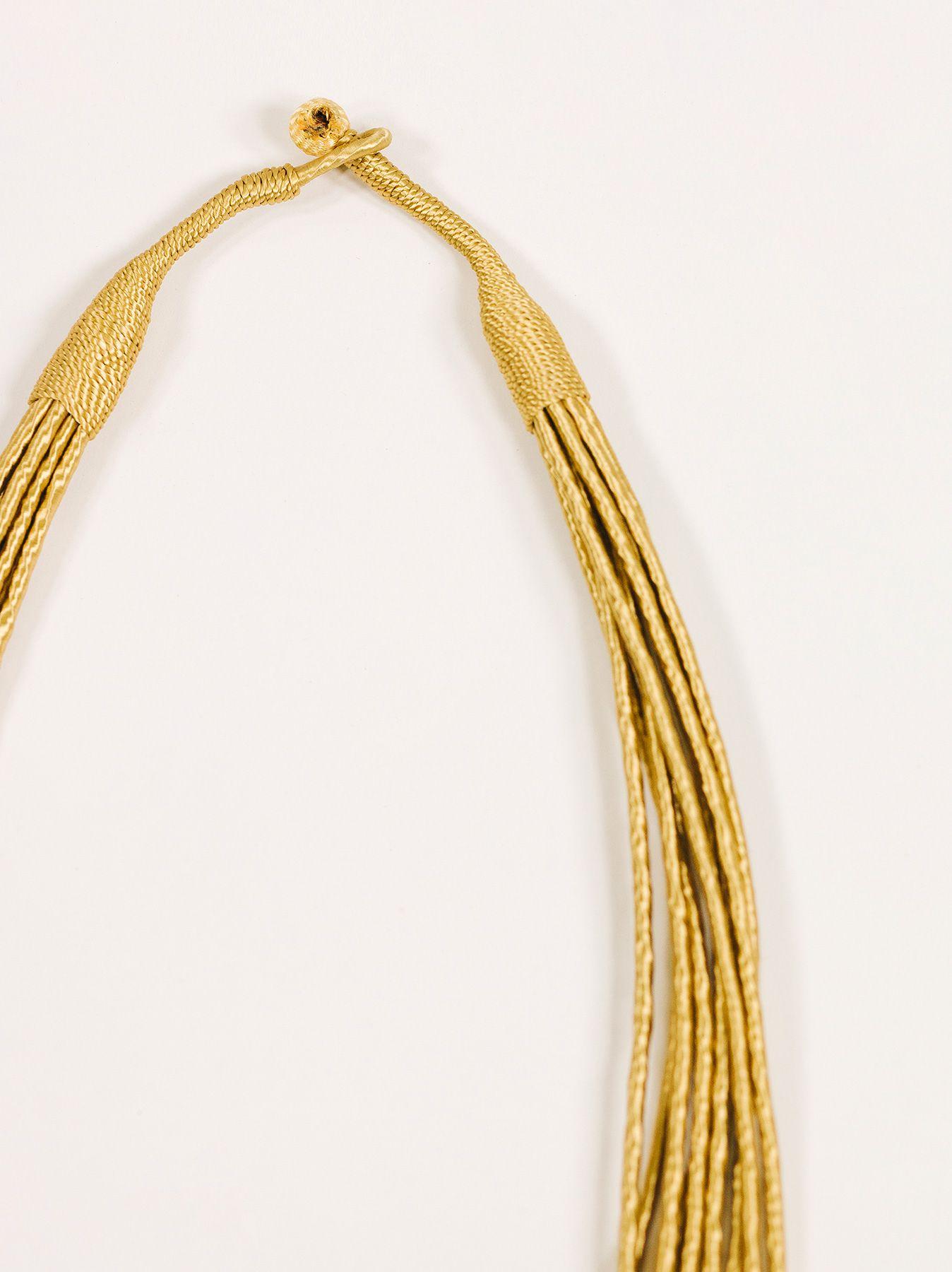 Collana semirigida oro
