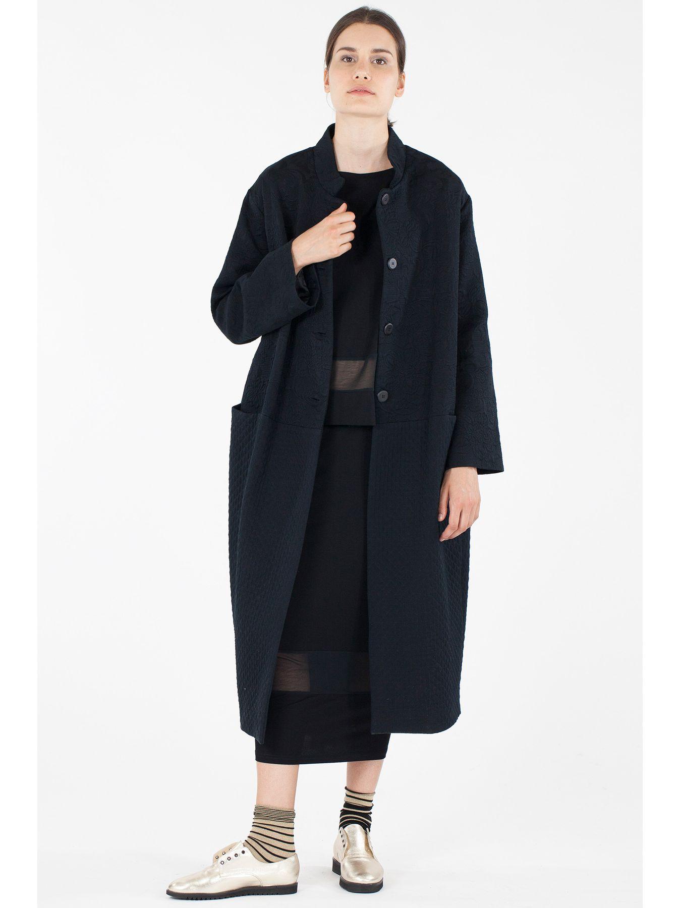 Cappotto lungo matelassé