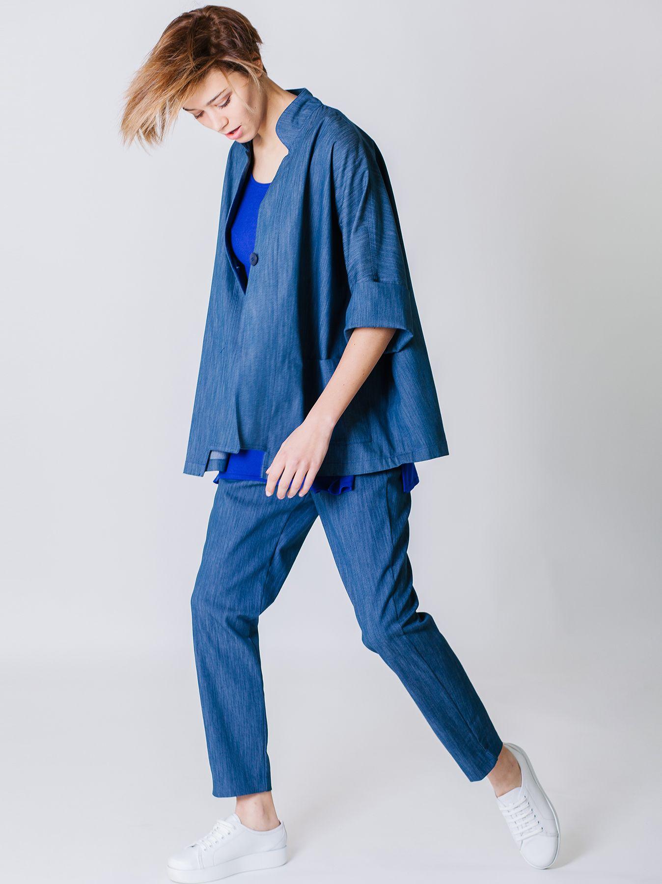 Giacca in jeans di cotone stretch