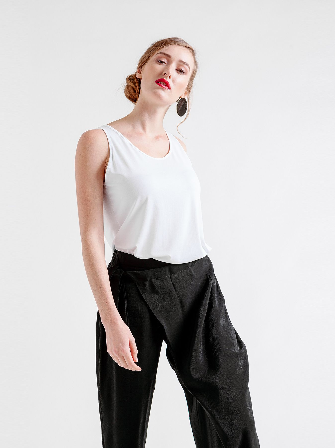 Pantalone con pannello