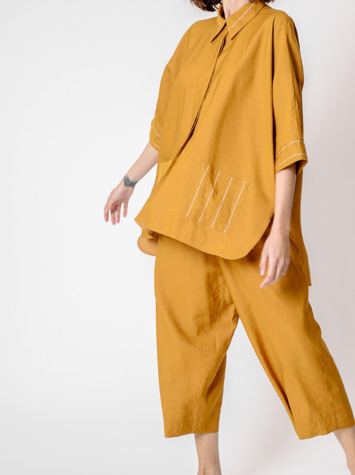 Camicia corpo quadrato