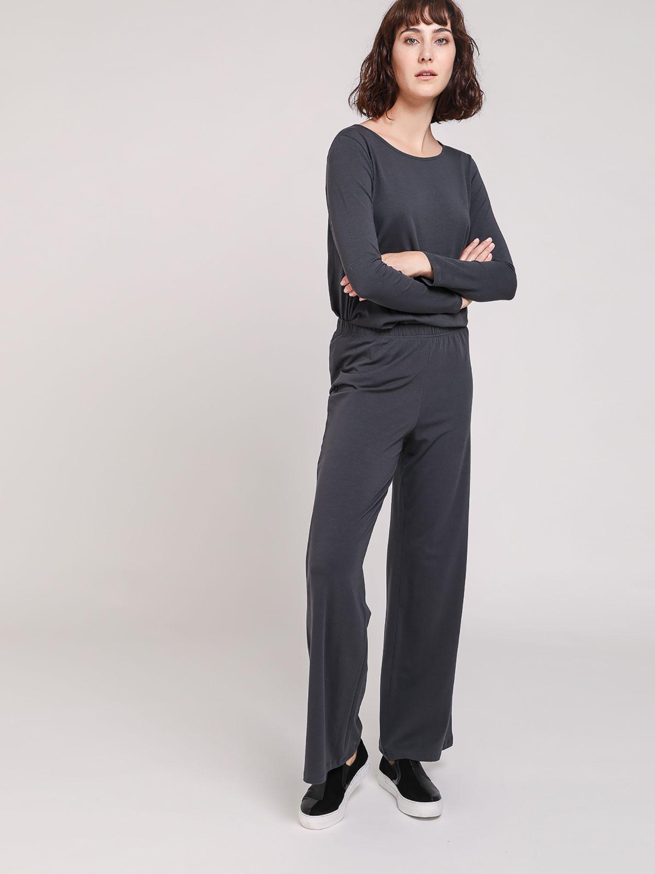 Pantalone elastico in cotone