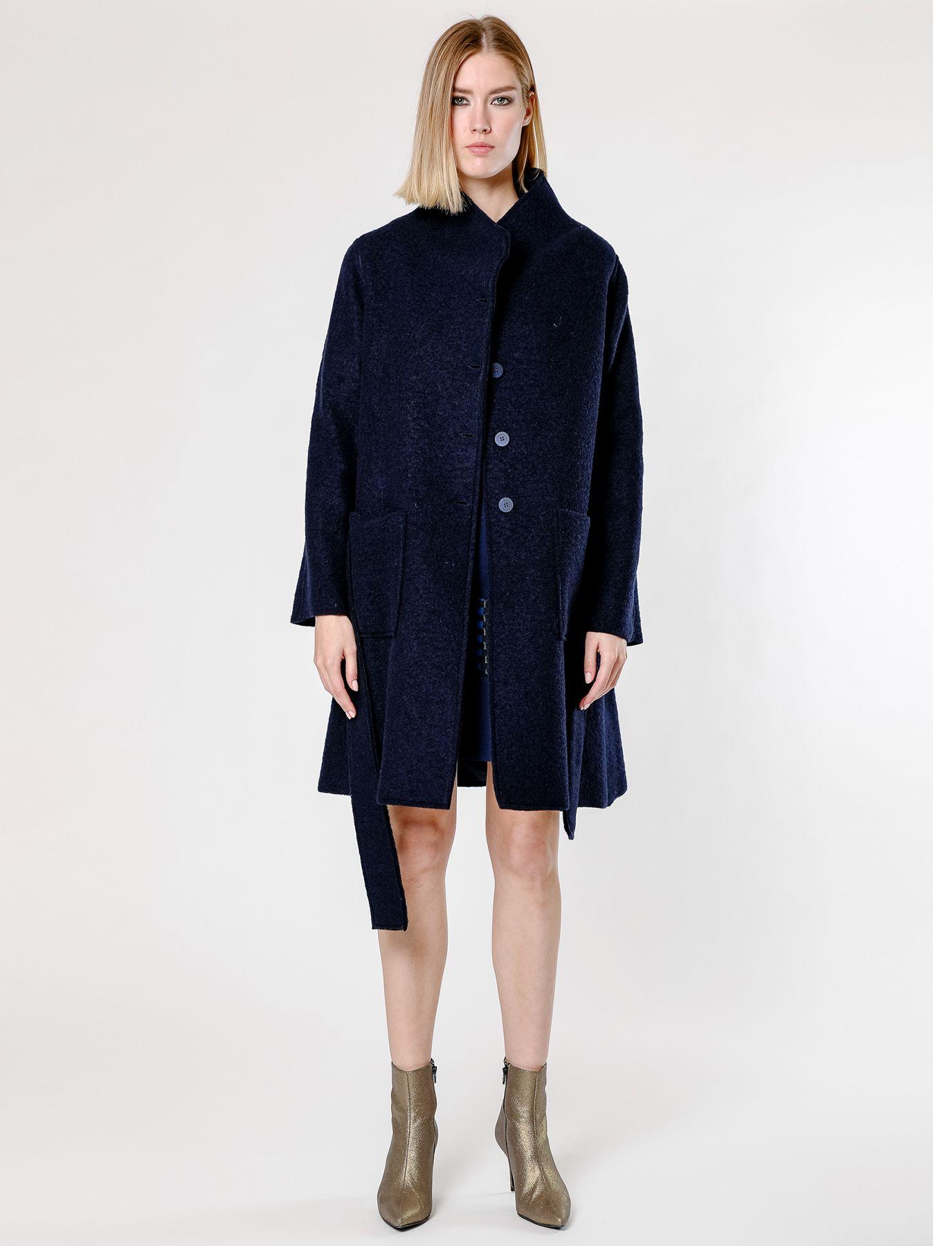 Cappotto in lana cotta
