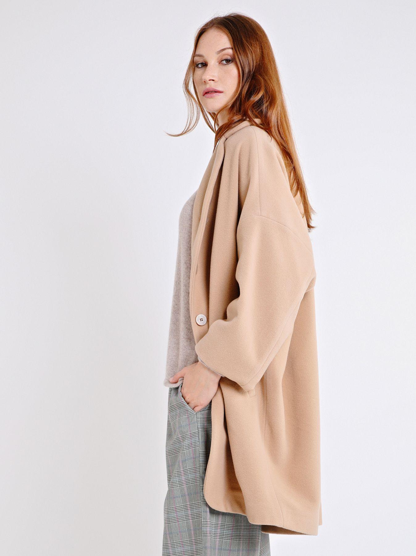 Cappotto in panno di lana
