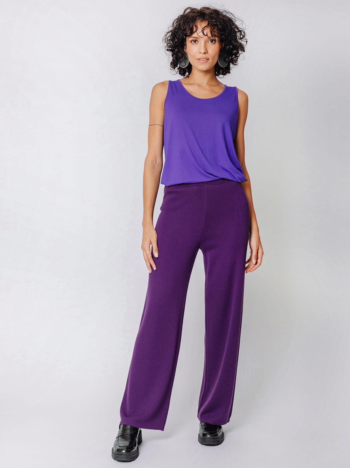 Pantalone elastico in maglia