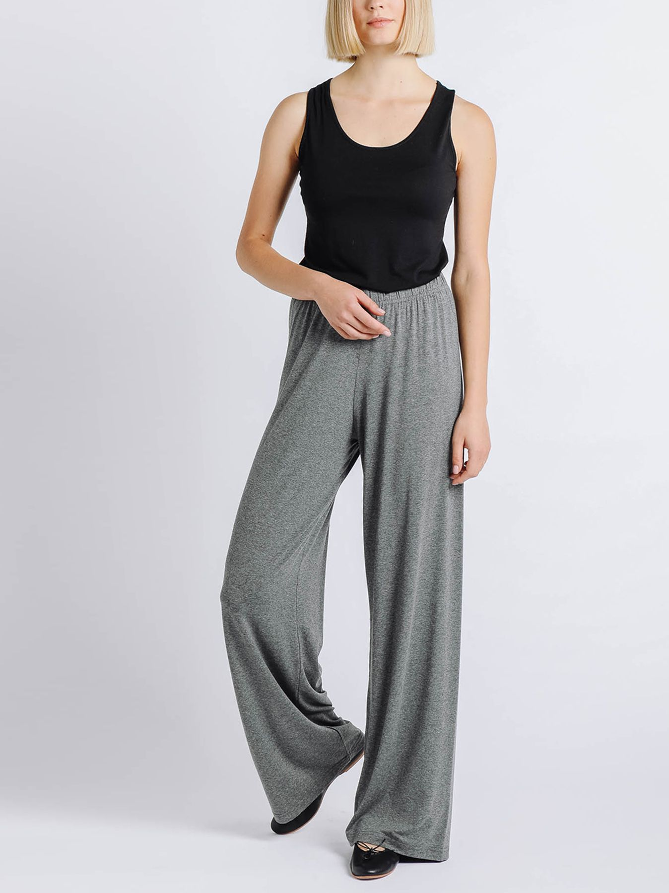 Pantalone elastico GRIGIO