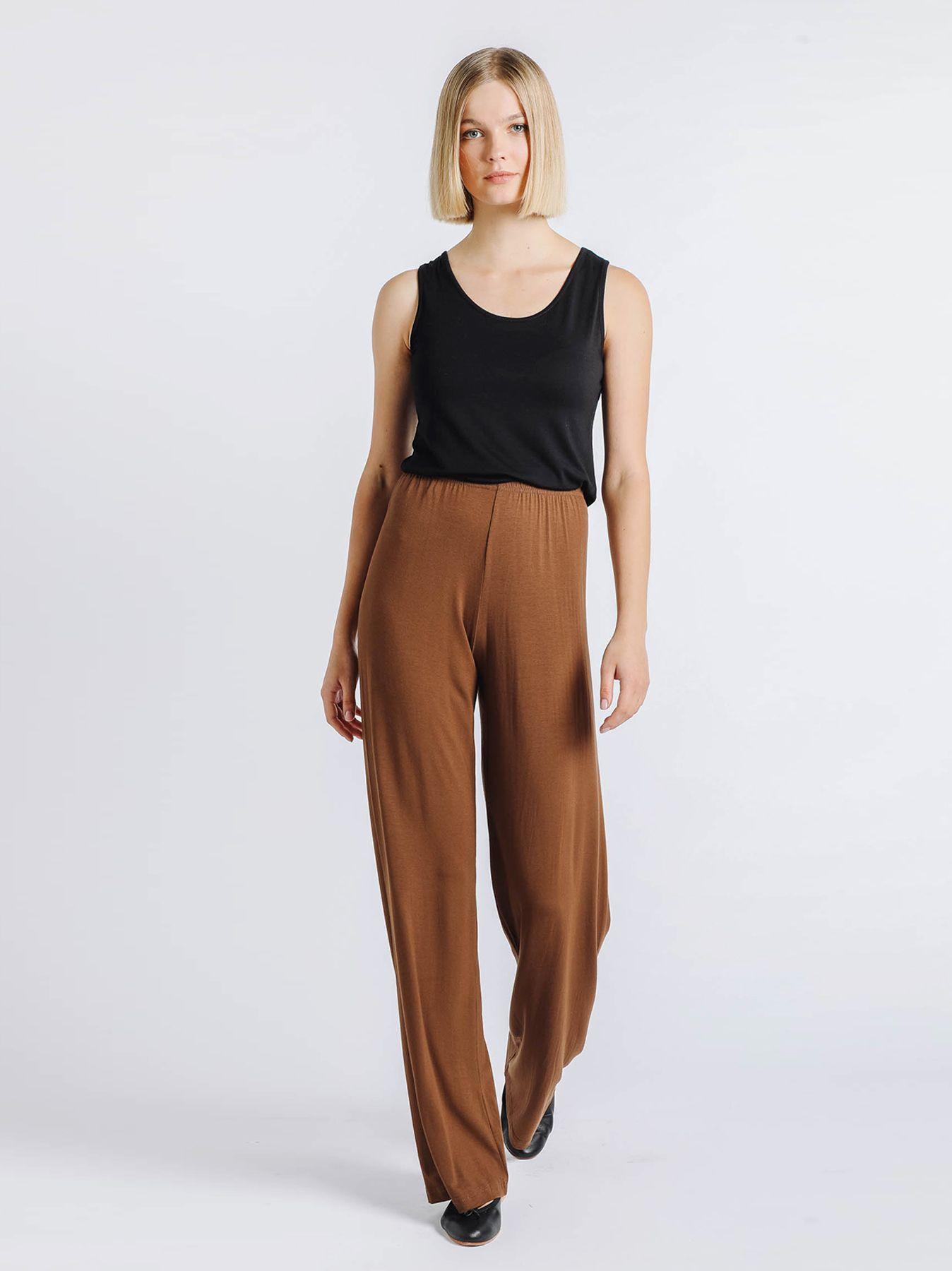 Pantalone elastico CACAO