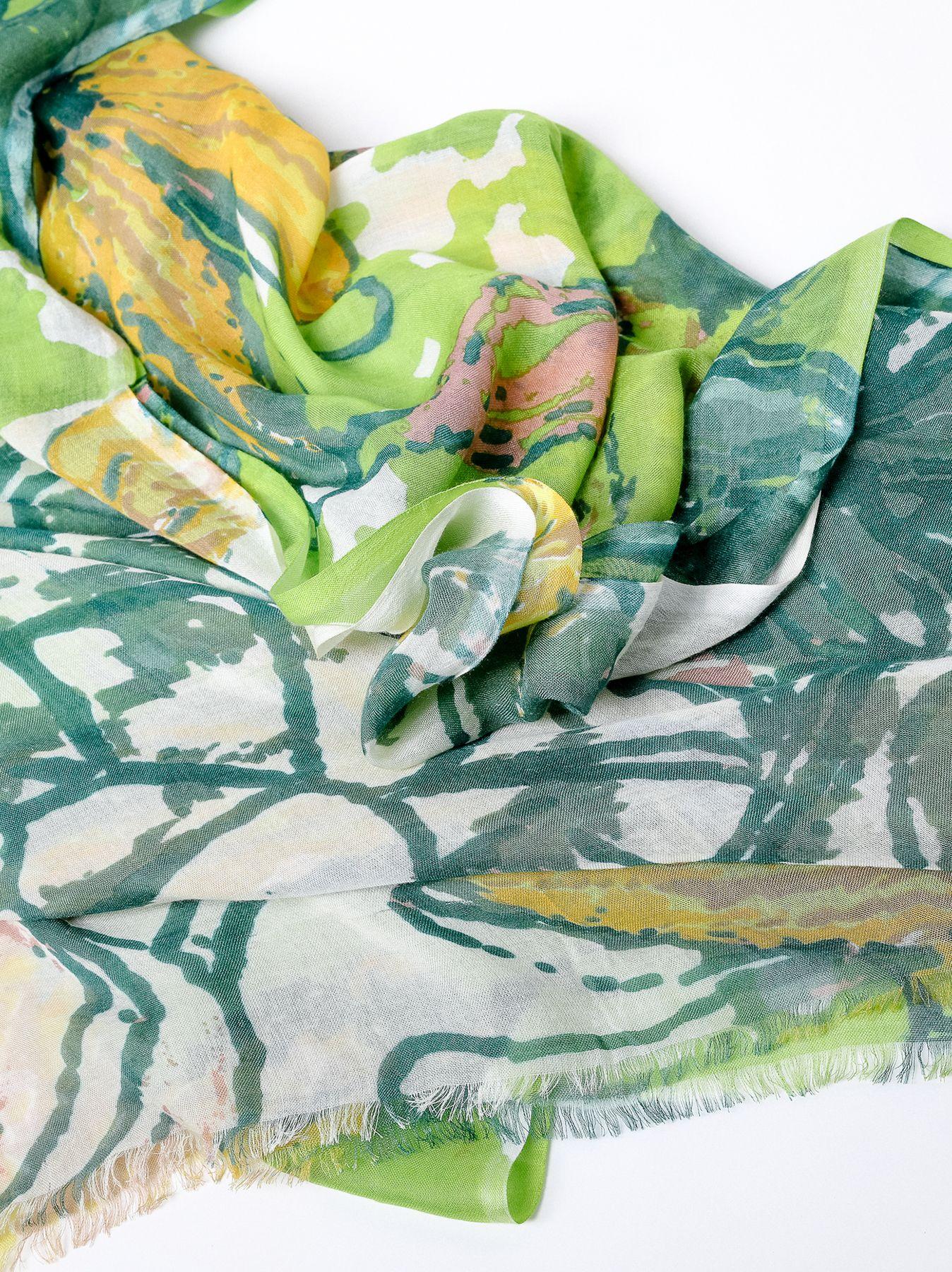 Sciarpa florale