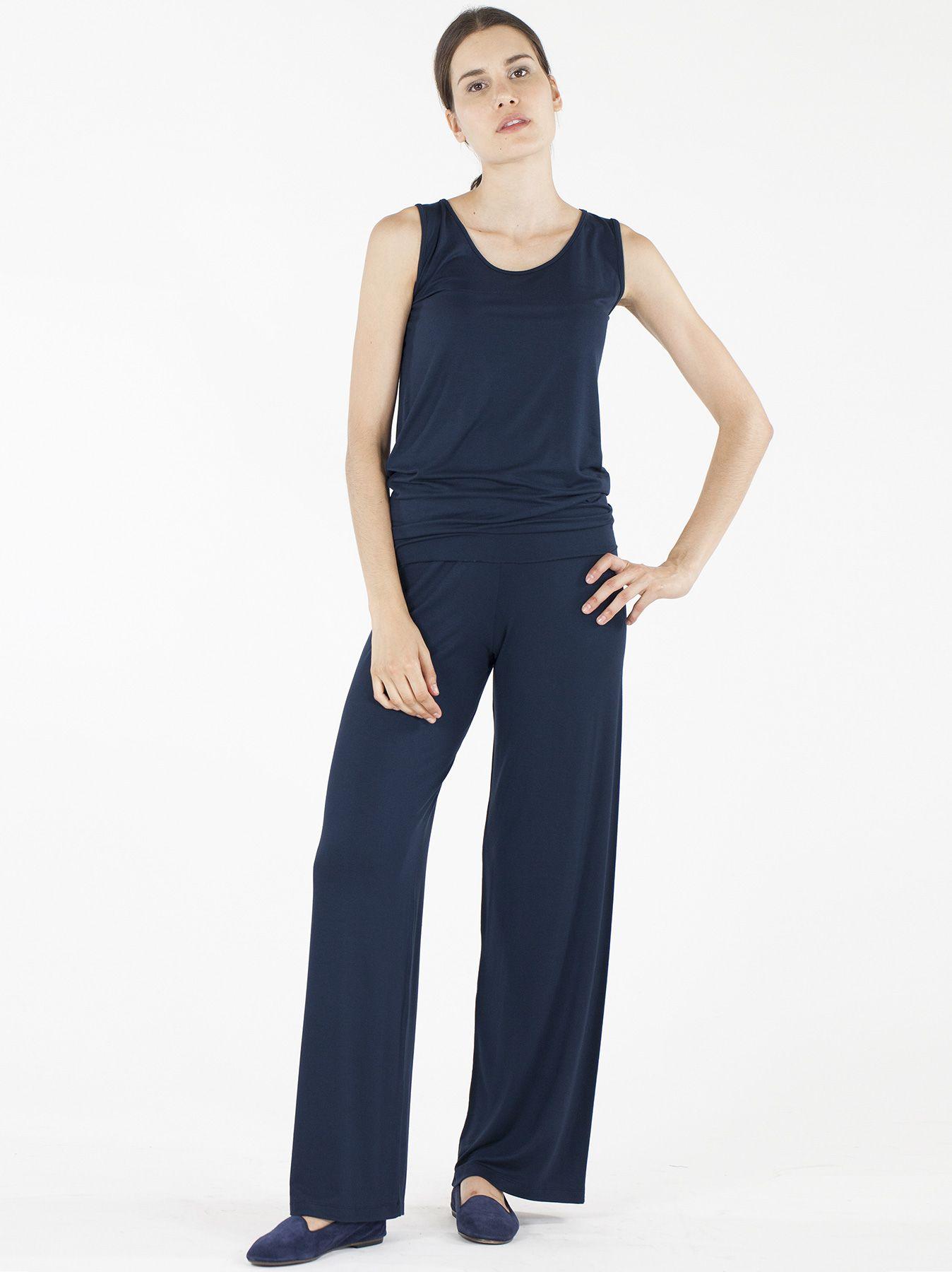 Pantalone elastico BLU