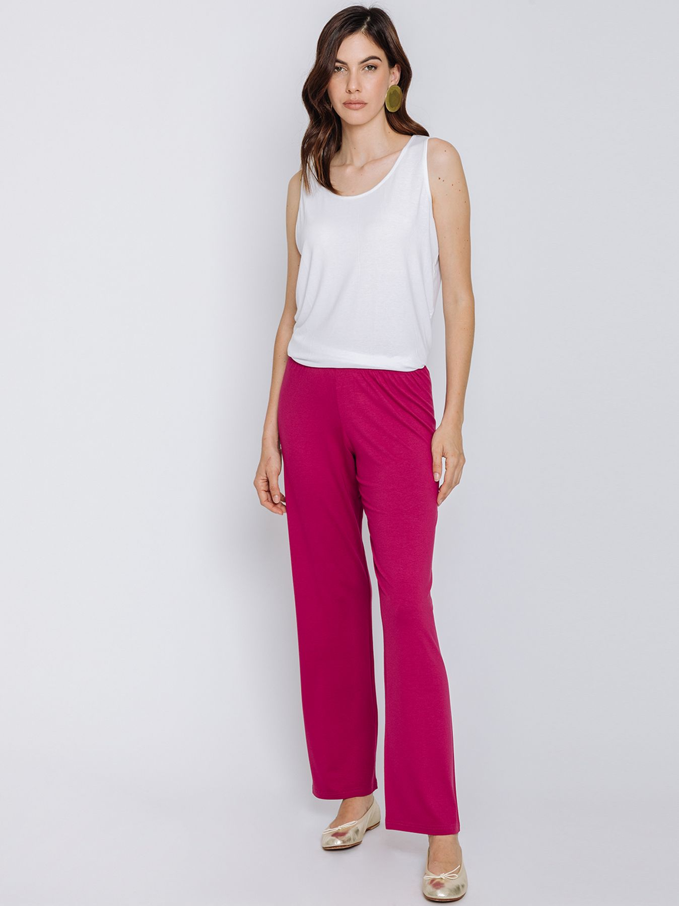 Pantalone CICLAMINO