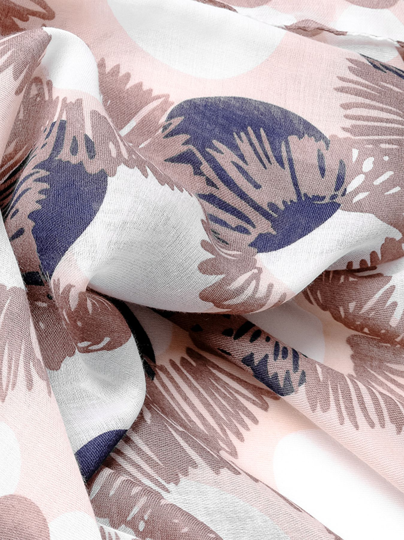 Bufanda Pois & Flowers