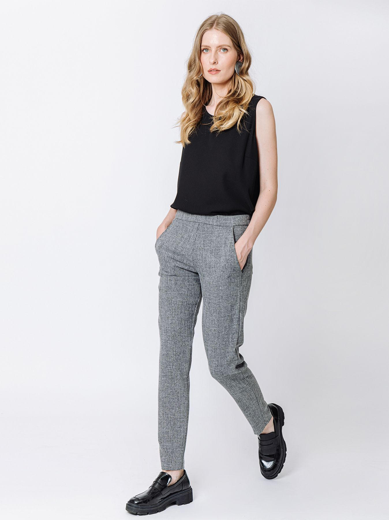 Pantalone chino in cady fluido SALE & PEPE