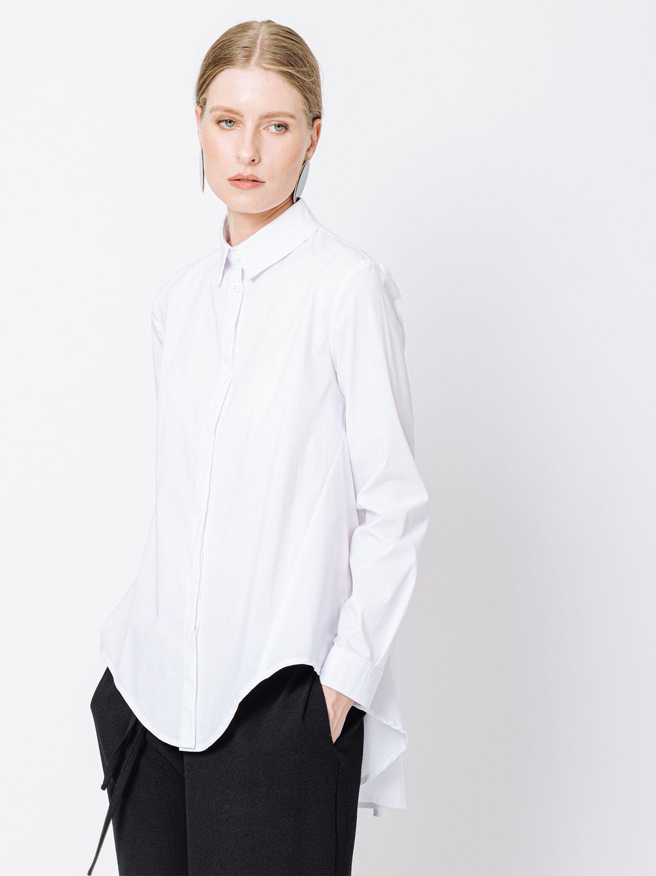 Shirt with flower design