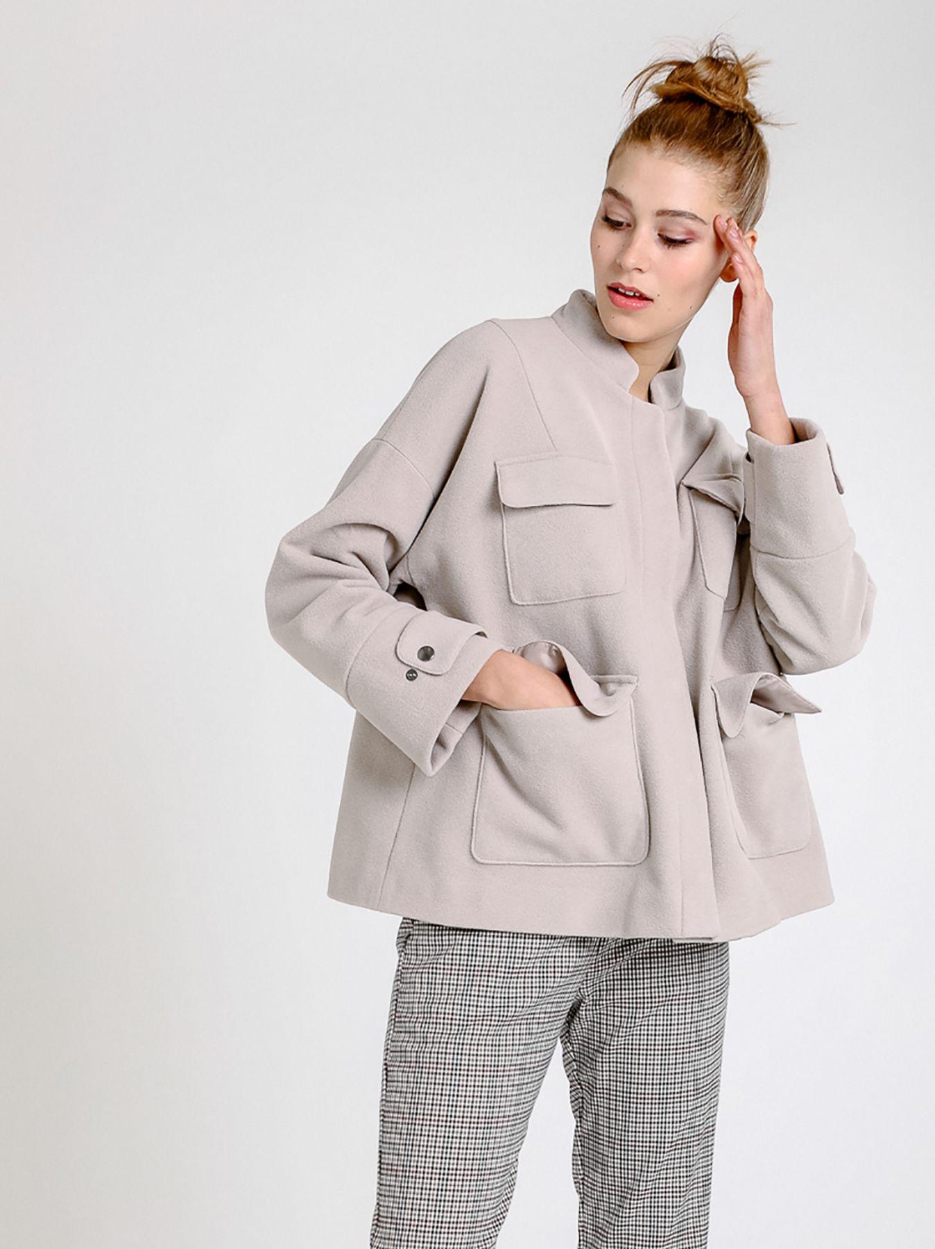 Giacca in panno di lana