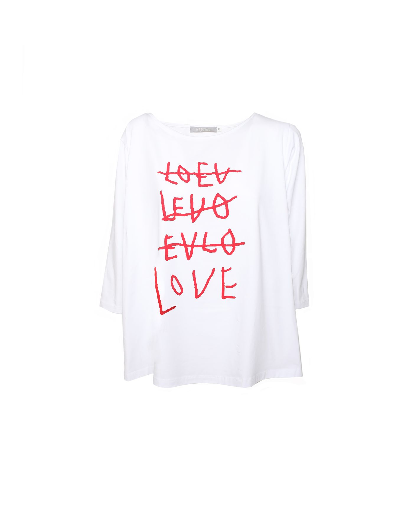 T-shirt scatoletta LOVE