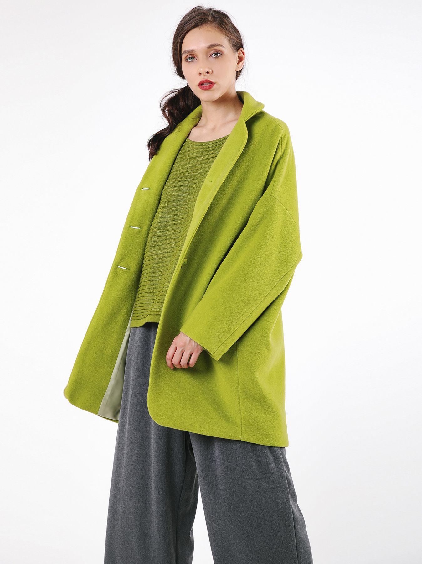 Giaccone in panno di lana