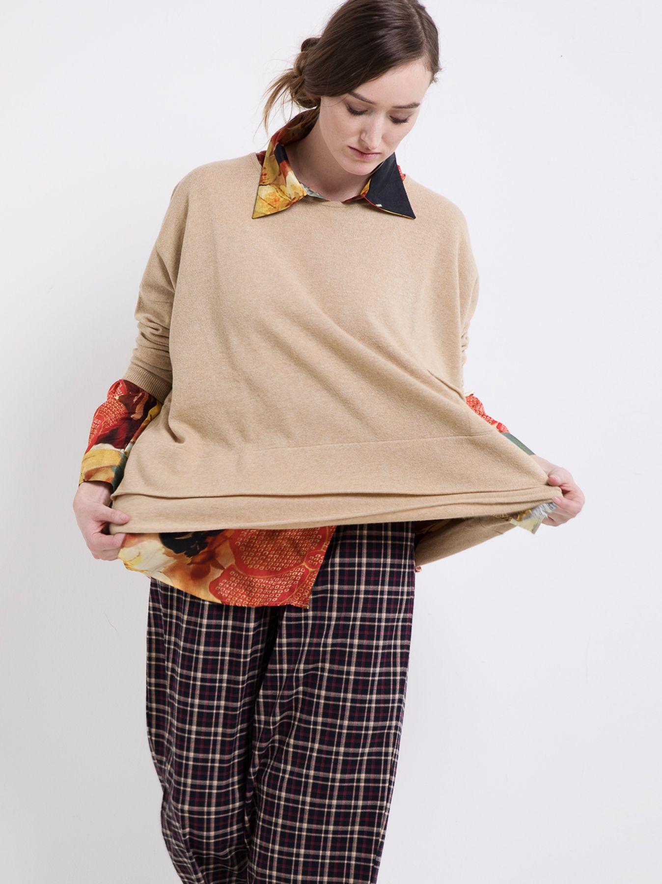 Maxi maglia a scatola