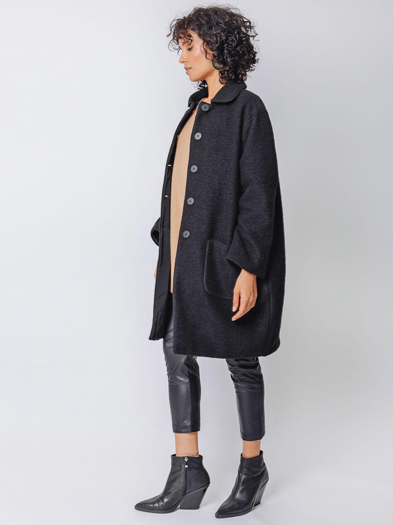 Double face coat