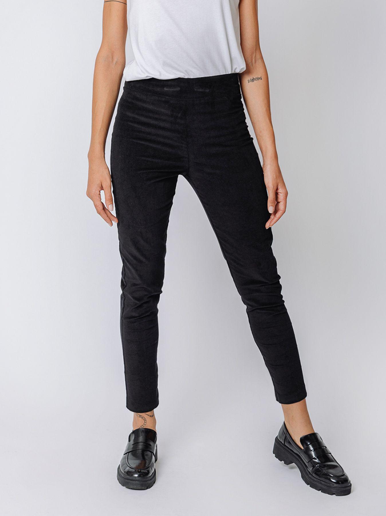 Skinny corduroy trousers