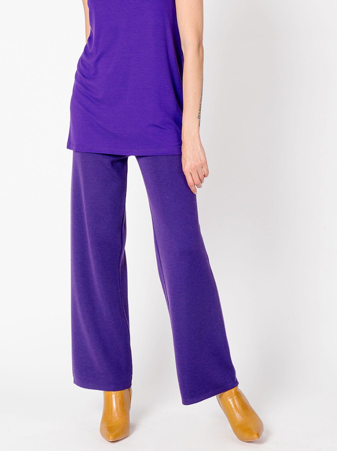 Pantalone elastico VIOLA