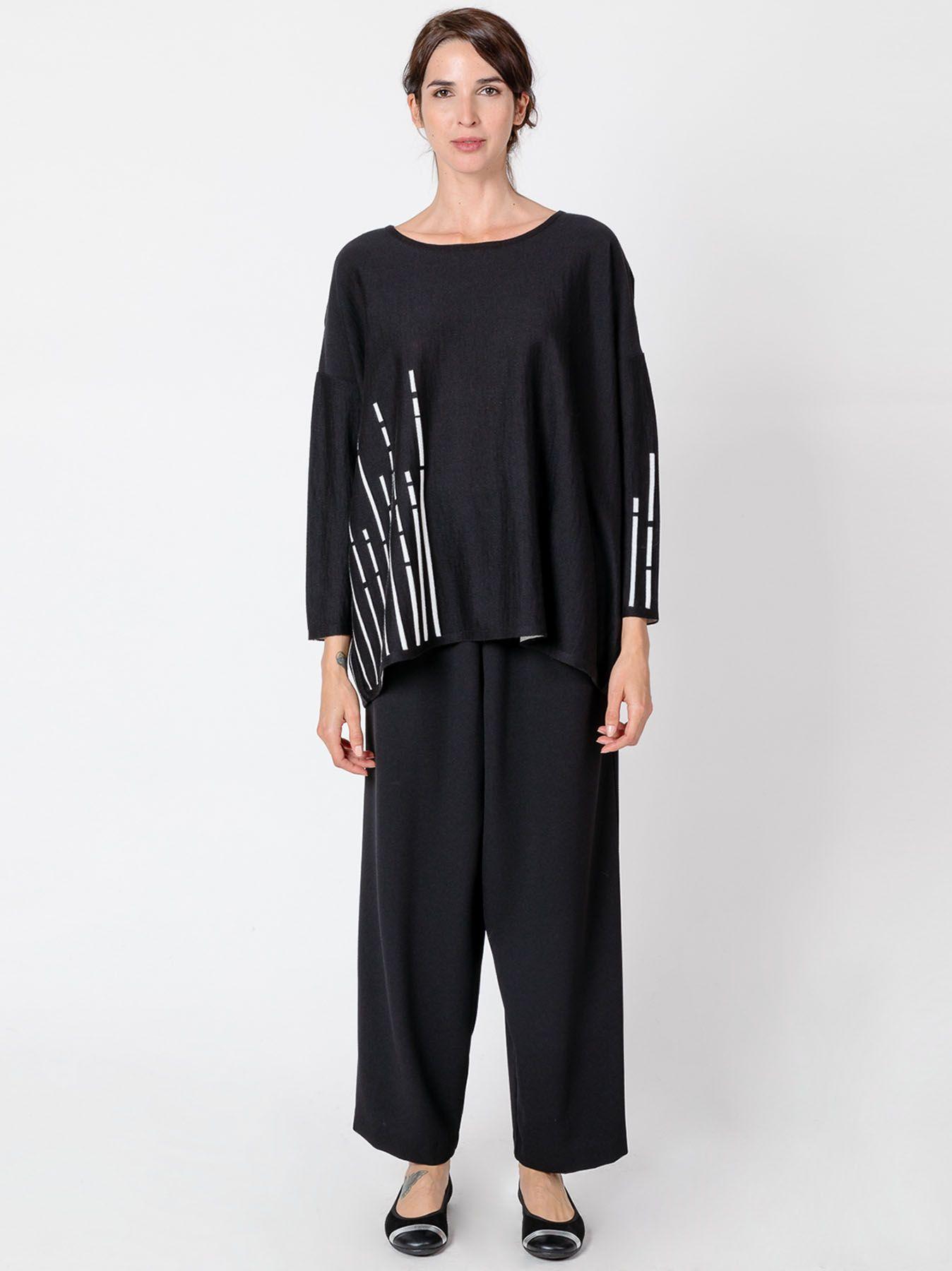 Maxi maglia BLACK & WHITE