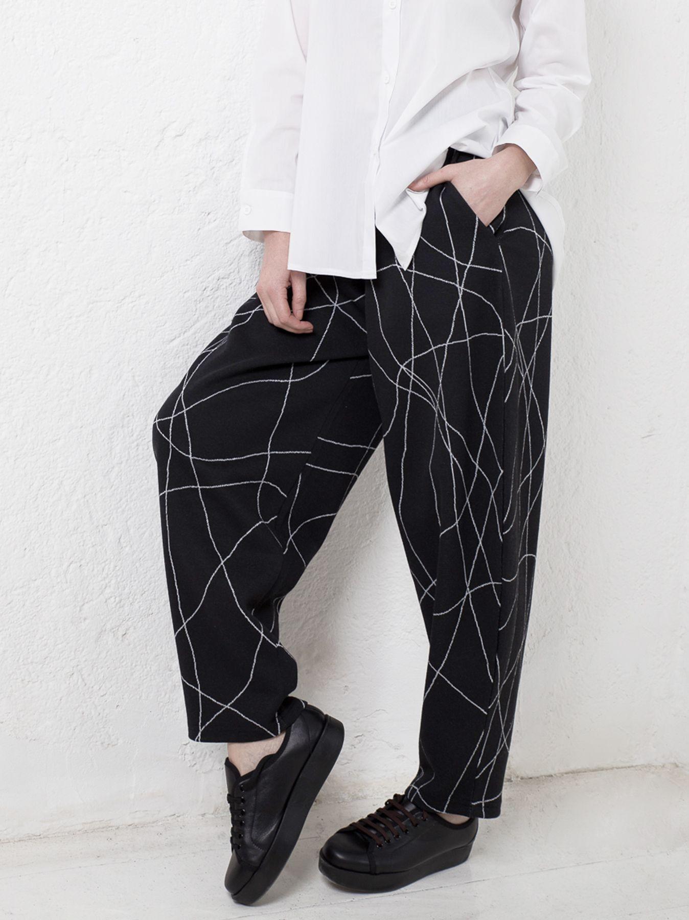 Pantalone cerchio SCRIBBLE