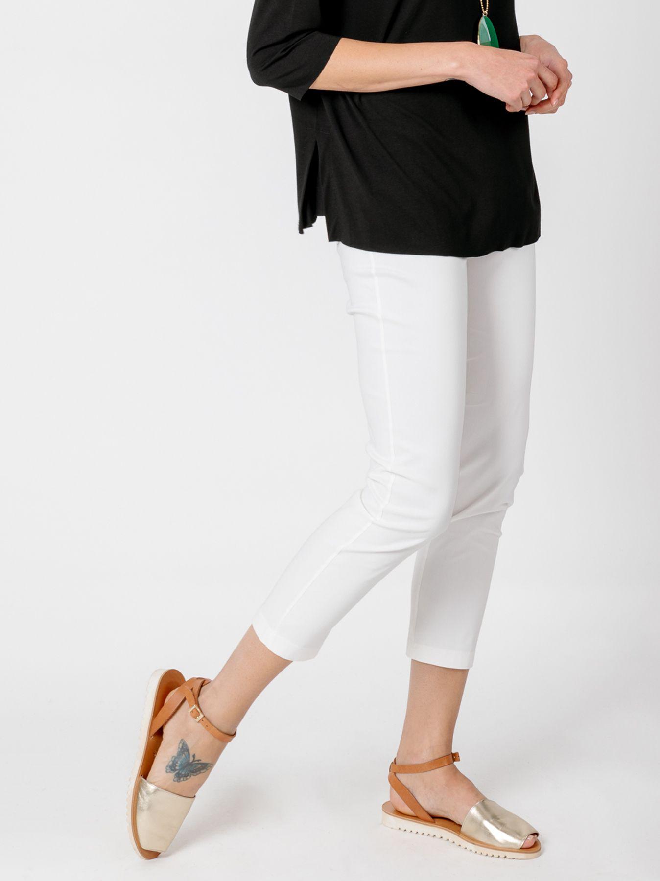 Panta-leggings BIANCO