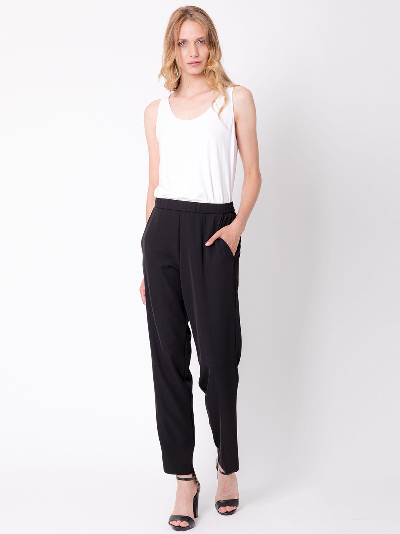 Pantalone chino in cady fluido