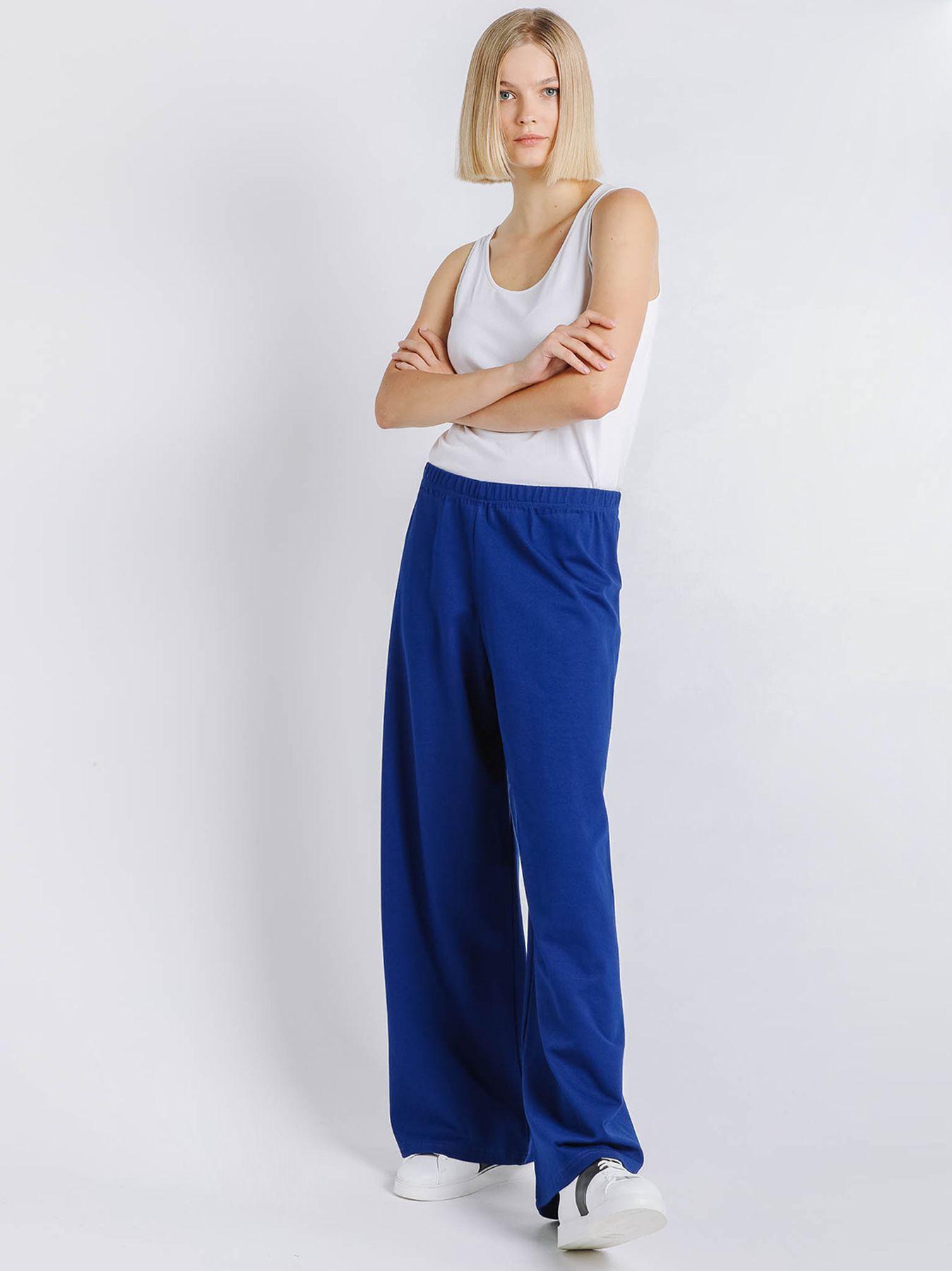 Pantalone elastico in punto Milano