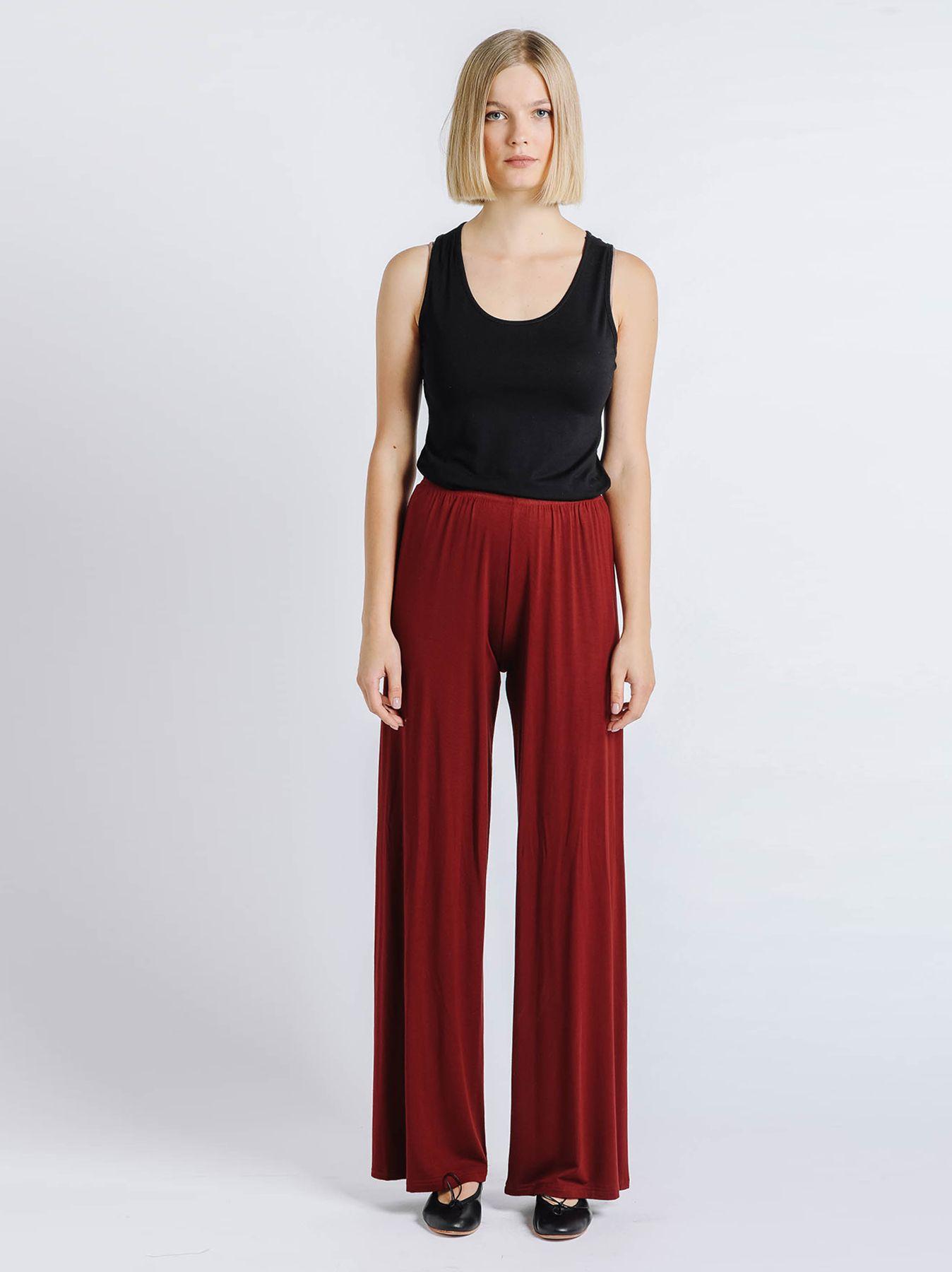 Pantalone elastico BORDEAUX