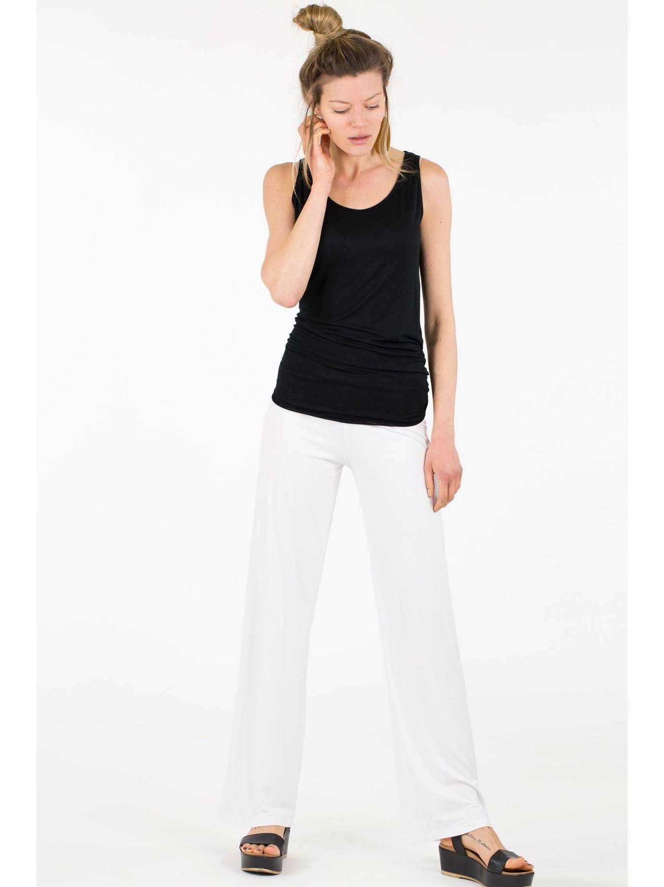 Pantalone elastico BIANCO