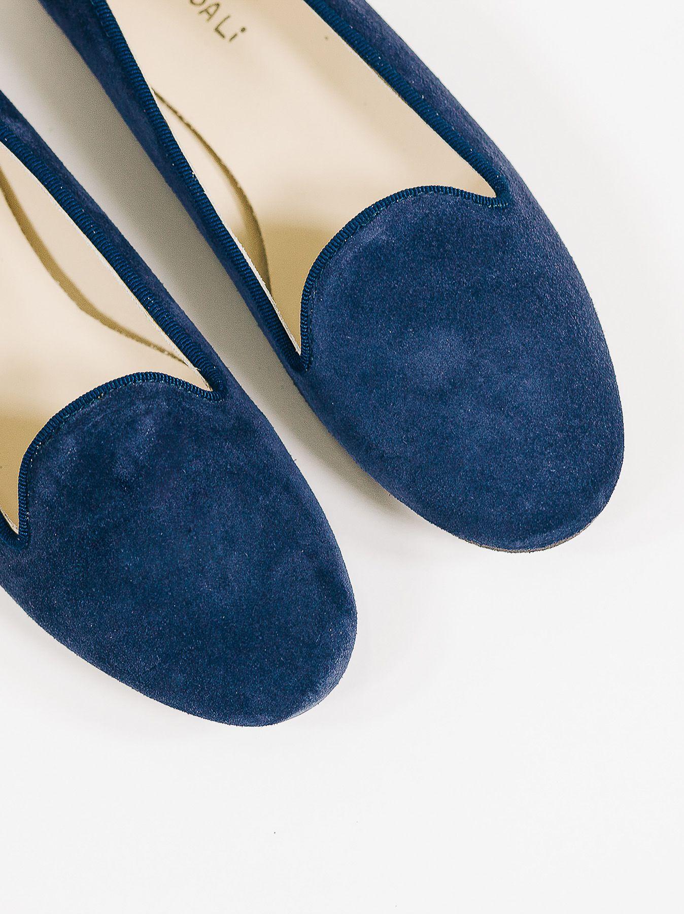 Mocasines azules
