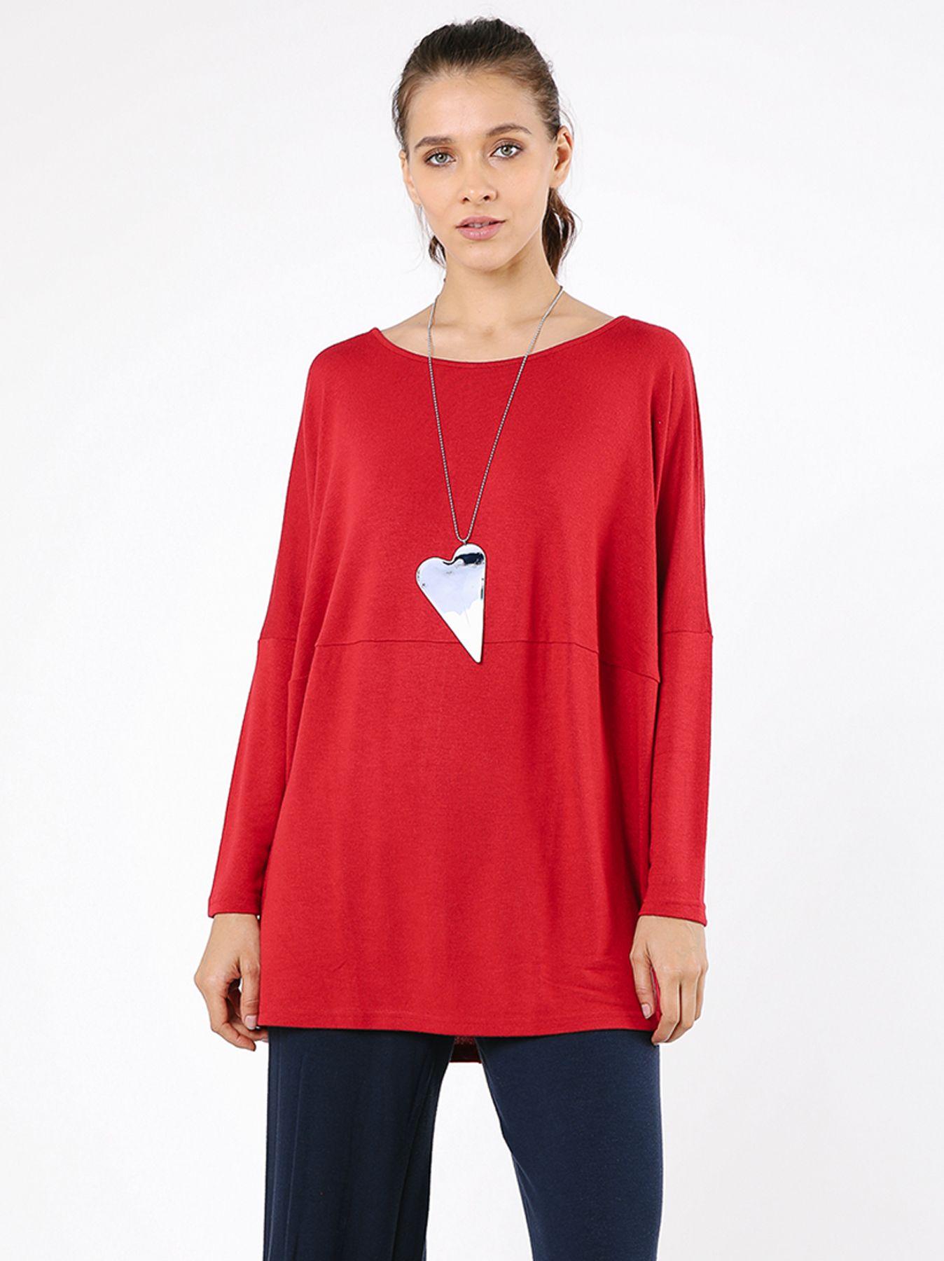 T-shirt ampia